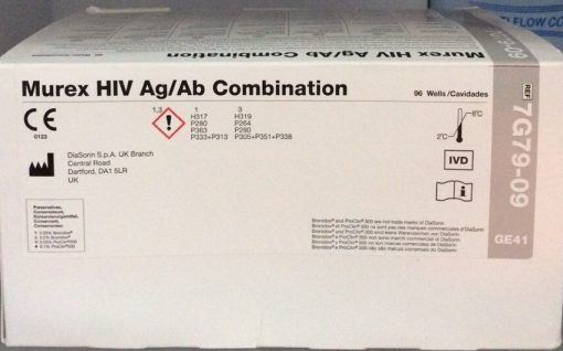 Test Elisa Murex HIV Ag Ab Combination