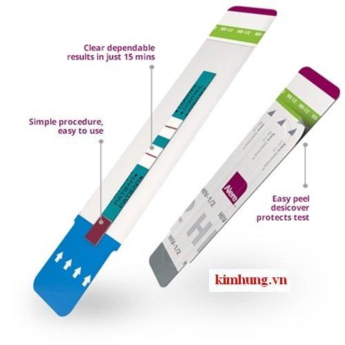 que test thu nhanh HIV Determine