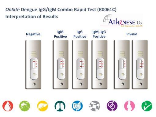 Test Dengue dang khay
