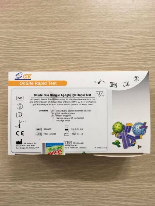 Test combo Dengue Duo