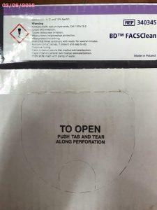 BD FACSClean - hóa chất đếm tế bào CD4 BD