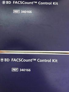 BD FACSCount Control Kit