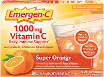 vitamin C dạng bột